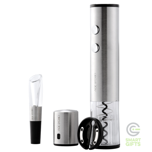Винный набор Xiaomi Circle Joy Electric Red Wine Opener Set 4 in 1 Silver Cn