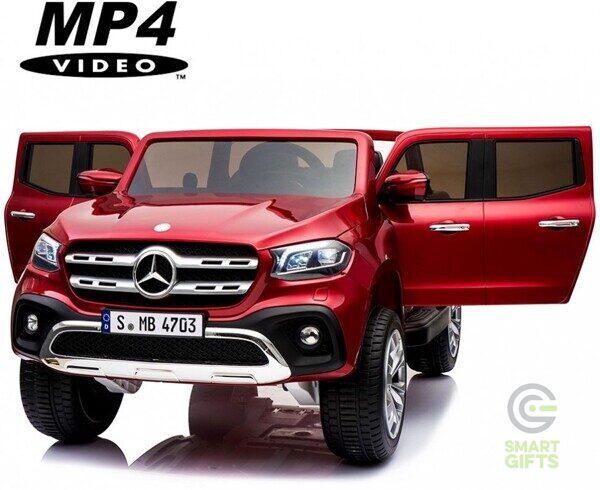 Электромобиль Mercedes-Benz X-Class 4WD MP4 - XMX606-RED-PAINT-MP4