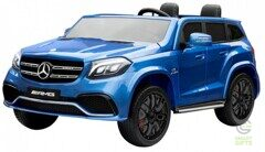 Детский электромобиль Mercedes Benz GLS63 LUXURY 4x4 12V 2.4G - Blue - HL228-LUX