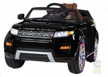 Детский электромобиль Range Rover Luxury Black 12V - SX118-S-BLACK-PAINT