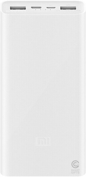 Аккумулятор Xiaomi Mi Power Bank 3  20000 mAh (PLM18ZM) White