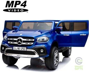Электромобиль Mercedes-Benz X-Class 4WD MP4 - XMX606-BLUE-PAINT-MP4