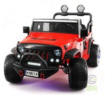 Электромобиль Jeep Wrangler Red 4WD - SX1718-4WD-RED